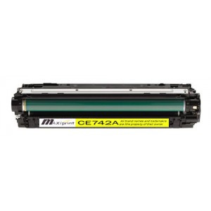 REMANUFACTURED HP 307A (CE742A) YELLOW